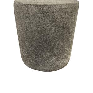 Kuhfell Hocker grau, H100