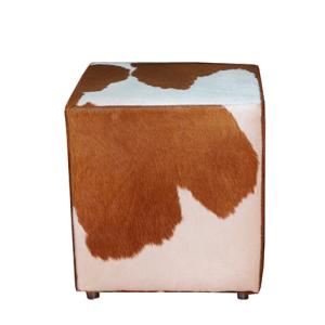 hochwertige und dekorative kuhfell hocker. Black Bedroom Furniture Sets. Home Design Ideas